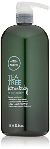 Tea Tree Hair and Body Moisturizer, Leave-In Conditioner, Body Lotion, After-Shave Cream