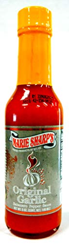 Marie Sharp's Original Garlic Habanero Sauce - 5 oz.