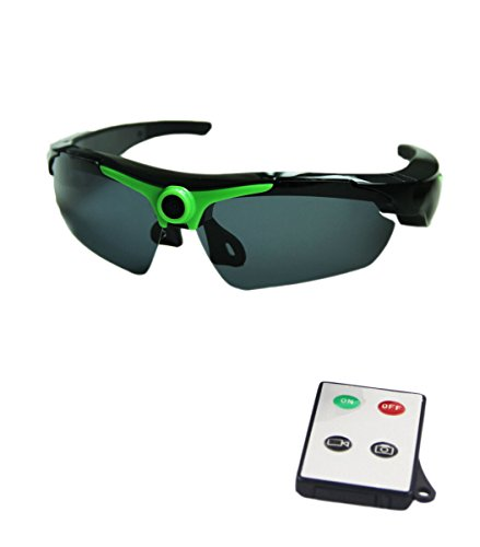 JOYCAM Polarized Sunglasses Camera Video Recording UV400 Glasses HD 720P DVR Eyewear Camcorder with Remote Control - Video Sunglasses Remote With