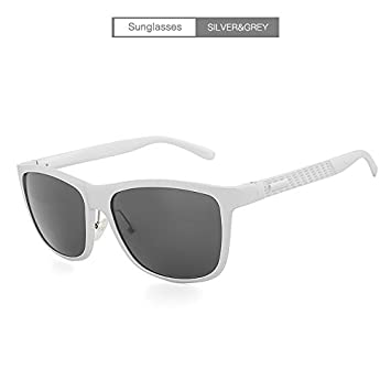 HUBINGRONG Gafas de Sol cuadradas para Hombres Polarizadas ...
