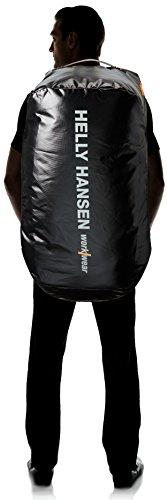 Helly Hansen Workwear Reisetasche Duffel Bag 120 L wasserabweisende Tasche und Rucksack für Beruf und Freizeit, STD beziehungsweiße Einheitsgröße, schwarz, 79568