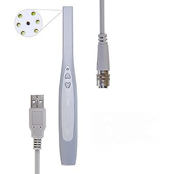 Amazon.com: Zeta ZT740 Dental Intraoral Camera Max 3.8M Pixels 6 LED USB Dentist Imaging Endoscope: Industrial & Scientific