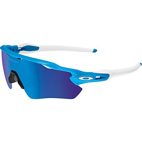 Oakley Men's Radar OO9208-03 Shield Sunglasses, Sky Blue, 138 - Running Glasses Oakley