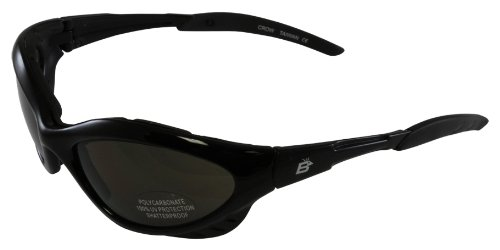 Birdz Eyewear Crow Riding Sunglasses (Black Frame/Smoke - Birdz Sunglasses