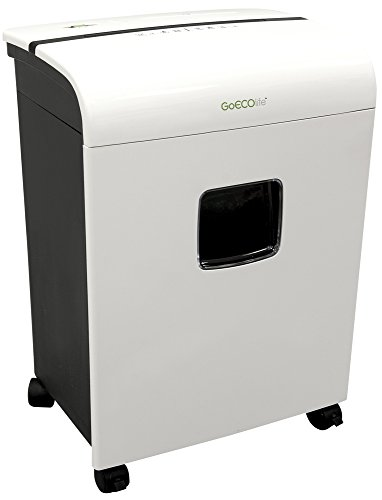 GoECOlife GMW120P Limited Edition 12-Sheet High Security Micro Cut Paper Shredder