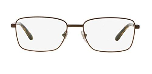 Versace Montures de lunettes Pour Homme 1227 - 1359: Matte Brown - 53mm