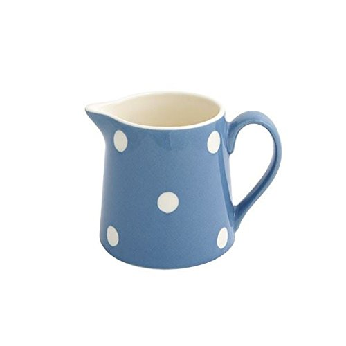 Fairmont and Main Earthenware Cream Jug, Blue (Blue Cream Jug)