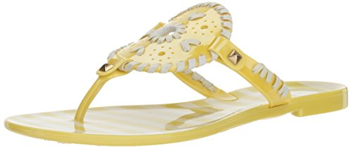 Used, Jack Rogers Women's Striped Georgica Jelly Flat Sandal for sale  Delivered anywhere in USA
