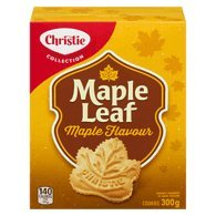 Christie Maple Leaf Maple Flavour Cookies 300g / 10.58oz {Imported from Canada}