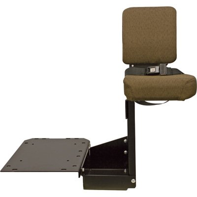 K & M 'Buddy Seat' Trainer Seat for John Deere Tractors - Brown, Model Number 8211 (Buddy Seat For John Deere Tractor)