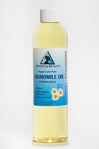 (Chamomile Oil Organic Cold Pressed Premium Natural 100% Pure 8)