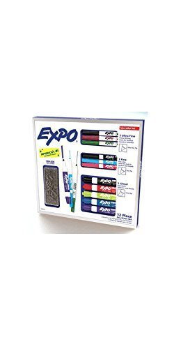 expo-12-piece-dry-erase-set