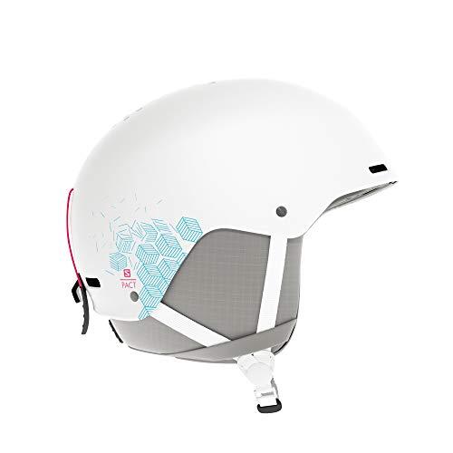 Salomon Junior Pact Helmet, Medium/56-59cm, White