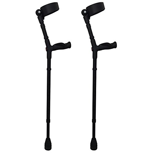 Thomas Fetterman Walk Easy 495 Adjustable Forearm Crutches...
