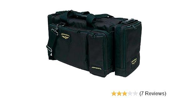 658ce495452 Amazon.com  Jeppesen - Black Captain Pilot Flight Bag   10001303    JS621214  Cell Phones   Accessories