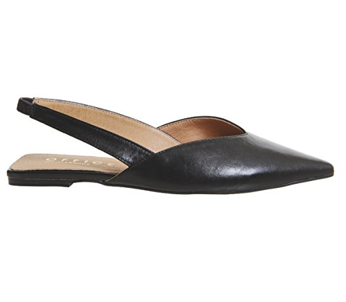 Slingback Point Black Fritz Leather Office Flats wE1647q
