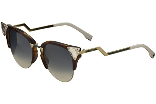 Fendy VIO Havana - gold 0041S Sunglasses Lens Category - Sunglasses Online Canada
