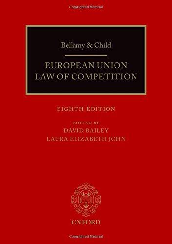 Bellamy & Child: European Union Law of - Business European