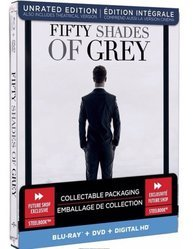 Fifty Shades of Grey Blu-ray Collectible Steelbook