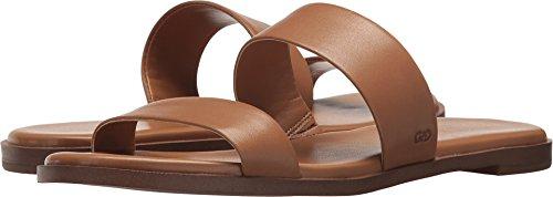Sandalo Piatto In Pelle Di Pecan Sandalo Findra Ii Donna Cole