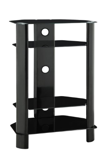 Series Video Shelf Audio 3 (Innovex Stanford Audio/Video Shelves, Black)