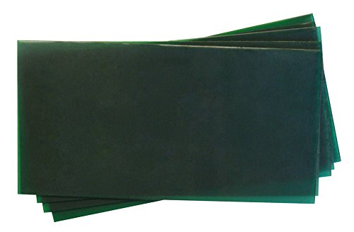 Ferris 3 x 6 Firm Green Flexible Wax Sheets - 18 Gauge Jewelry Making Waxworking Casting PMC Supplies 59-1123