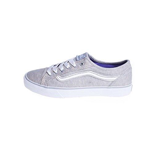 Zapatillas Chica Vans: W Devan Jersey Light Grey GR 7 USA / 39 EUR: Amazon.es: Zapatos y complementos