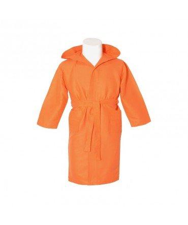 10XDIEZ Albornoz Microfibra Infantil Naranja - Medidas Albornoces/Pijamas Infantil - 6