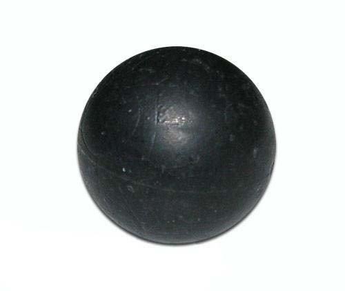 - RAP4 100 Count Rubber Ball Training Paintball - Black (Black)