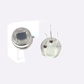 2 PC detector de infrarrojos cuerpo AS312 3-Pin piroeléctrico sensor PIR Humano: Amazon.es: Industria, empresas y ciencia