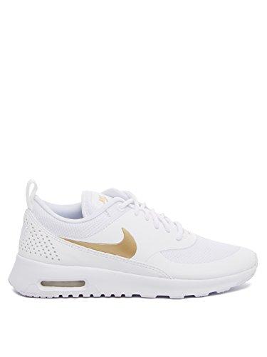 Nike Damen Wmn Air Max Thea J Gymnastikschuhe, Weiss (wit / Mtlc Goud / Wit 100), 36,5 Eu