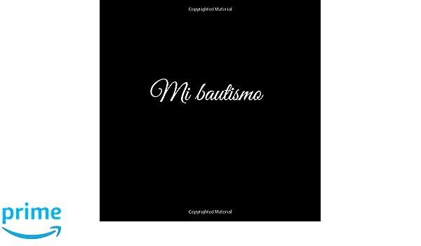 Mi bautismo: Libro De Visitas Mi bautismo para bautizo ideas regalos decoracion accesorios fiesta libro de recuerdos firmas invitados bautizo .