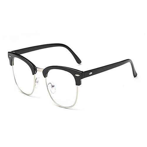 Filtro Anti Hombre de Negro Protectoras Brillante Xinvision Mujer Gafas Gafas Moda luz para Claro fatiga azul gaming Lente YRxq1w