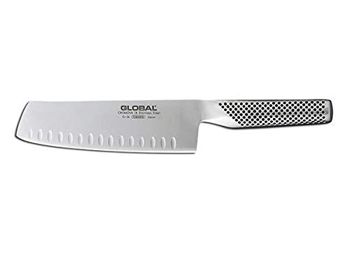 Global 7'' Hollow Ground Vegetable Knife