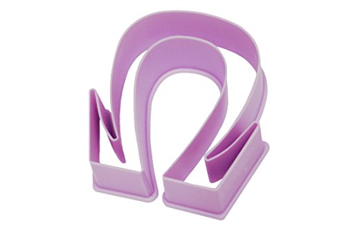 Live Greek-Greek Letter Shaped Cookie Cutter-OMEGA Shape-Measures 3 Inches Long x 2.75 Inches Wide-Great Gift, Big Sis/Lil Sis, Fundraising, Parties, Sororities, Fraternities, Panhellenic,Art Stencil