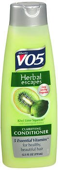 Alberto VO5 Herbal Escapes Kiwi Lime Squeeze Clarifying, 12.5 fl oz (Conditioner, 2 Bottles) (Vo5 Alberto Herbal Conditioner)