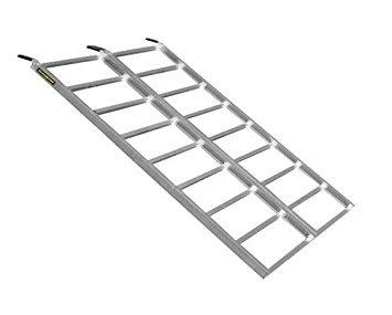 Quadboss Arched Bi-Fold Quadlite Ramp 69&Prime, x 48&Prime, TX302 ()