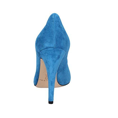 Casadei Zapatos Mujer 36 EU Zapatos de Salón Gamuza AZ389