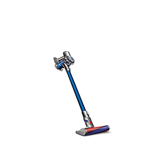 Nikkycozie Fluffy Cordless Vacuum Cleanner Stick Blue New Model V6