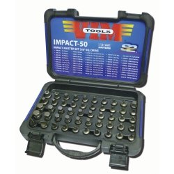 "50 piece Impact Master Set - 3/8"""" Sq. Drive Tools Equipment Hand Tools Review"