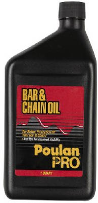 Poulan/Weed Eater Qt Bar & Chain Oil (Pack Of 12) 30129 Chain Saw Accessories