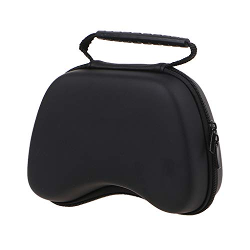 NA. Zipper Pouch Hard Protective Case Storage Bag for X-box One/Switch Pro Gamepad