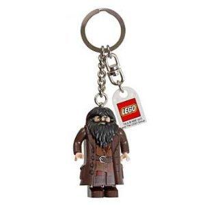 Potter Harry Lego Keychain (LEGO Harry Potter Rubeus Hagrid Keychain)