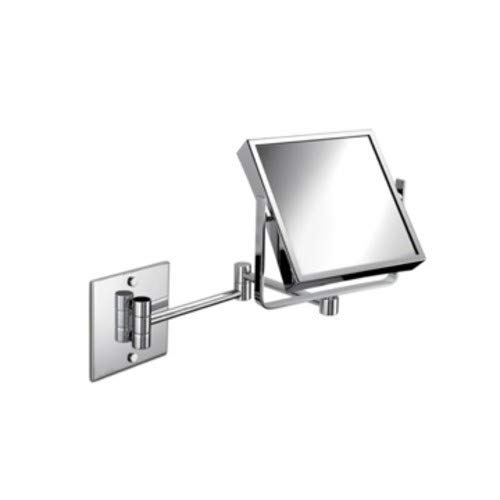 (Nameeks Windisch 99745-CR-3x-637509873134 Wall Mounted Mirrors Collection Makeup Mirror, Chrome)