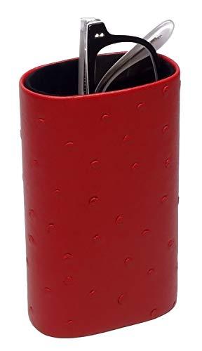 Desktop Eyeglass Holder w/Soft Lining in Red CA-500 by ()