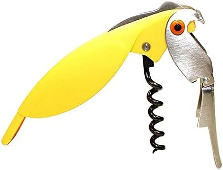 whbage Sacacorchos 2pc Parrot Bottle Opener Random Color