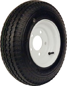 Loadstar Tires 30520 480-12 b/4h pln wh k353 by Loadstar Tires