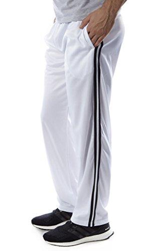 Vertical Sport Men's track pants (White - X Large)