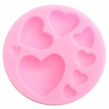 Bakeware & Accessories - Beautiful Silicone Heart Love Shape