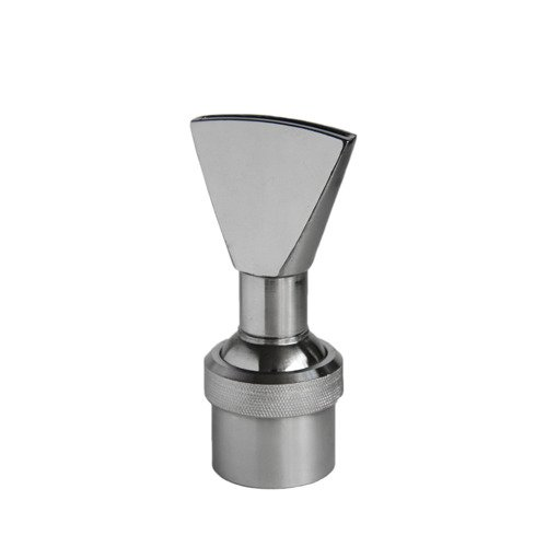Aquacade Fountains Stainless Steel DN40 1 1/2'' Narrow Fan Jet Fountain Nozzle by AQUACADE FOUNTAINS